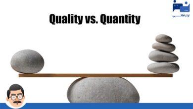 Photo of در تولید محتوا کیفیت مهم تر است یا کمیت؟